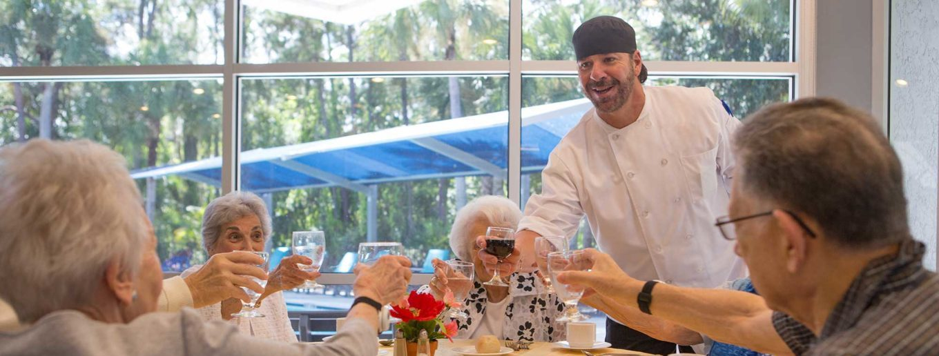 How Chef Ignacio Brings Residents Together