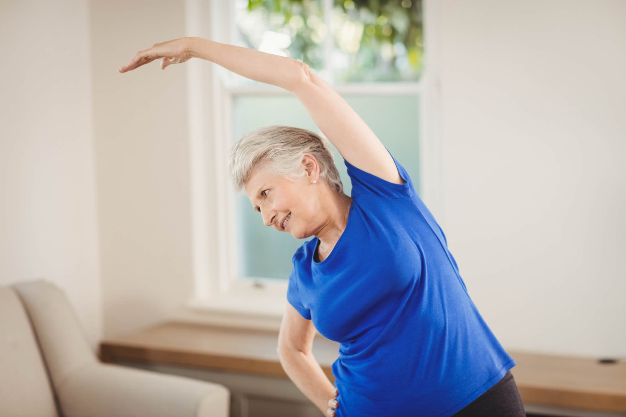 How Seniors Can Exercise with Limited Space